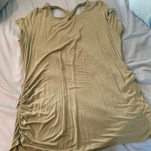 Jessica Simpson Side Ruched Maternity Shirt